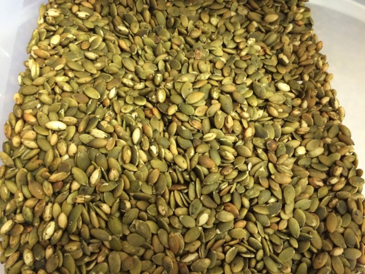 Pumpkin seeds at the Gulch. Rations, seeds, breakfast, snacks, trail mix.